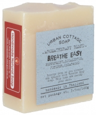 Handmade Aromatherapy Fragranced Soap BREATHE EASYY, 100 g, Fair ..