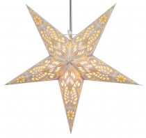 Foldable Advent Starlight Paper Star, Christmas Star Menor - crem..