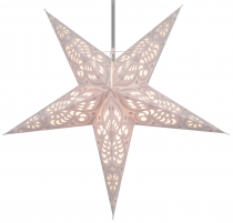 Foldable Advent Starlight Paper Star, Christmas Star Menor - natu..