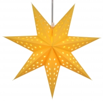 Foldable Advent illuminated paper star, Poinsettia 60 cm - Austri..