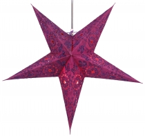 Foldable Advent Starlight Paper Star, Christmas Star Alegra