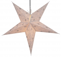Foldable Advent Starlight Paper Star, Christmas Star Ares