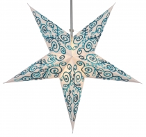 Foldable Advent Starlight Paper Star, Christmas Star Meira