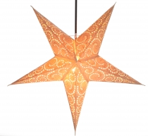Foldable Advent Starlight Paper Star, Christmas Star Attila