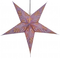 Foldable Advent Starlight Paper Star, Christmas Star Antaris purp..