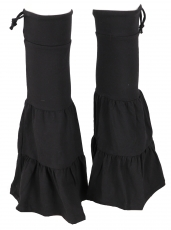 Goa, Psytrance leg warmers, gaiters, arm warmers - black