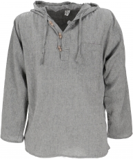 Nepal shirt, Goa hippie sweatshirt, yogashirt - grey