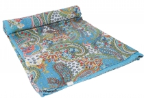 Quilt, Quilt, Bedspread, Embroidered shawl, Indian bedspread, Bed..