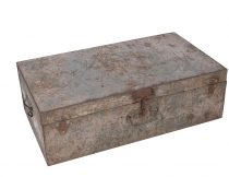 Old tin case antique metal case - Model 23