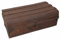 Old tin case antique metal case - Model 24