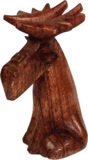Carved small decorative figure - Fancy Moose 2
