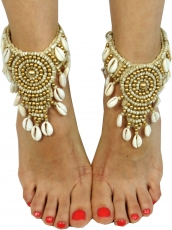Festival jewellery, anklets, foot ornaments, goash ornaments, bar..