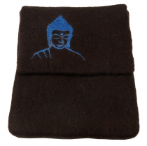 Felt iPad Sleeve Buddha brown