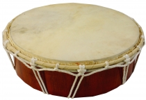 Flache Holztrommel, Percussion Rhythmus Klang Instrumente, Frame ..