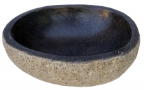 river stone bowl, bird bath approx. 30 cm - 1