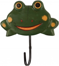 Colorful wooden coat hook, wall hook, coat hook - Frog 2