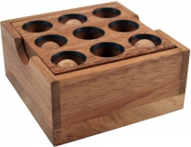 wooden game, game of skill, puzzle game - Golf Puzzle