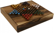 Board game, wooden parlour game - Halma