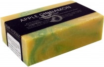 Handmade scented soap, 100 g Fair Trade - apple-cinnamon
