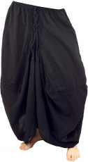 Hippie skirt Aladin culottes skirt - black