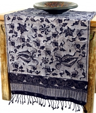 Batik table runner, wall hanging from Indonesia - Design 1