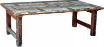 Recycled wood coffee table - Model 18
