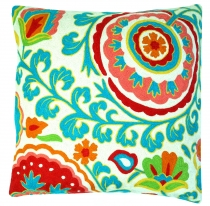 Kelim cushion cover, Boho cushion cover `cashmere` made of wool -..