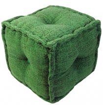 Kelim seatpouf, stool, cube - model 3
