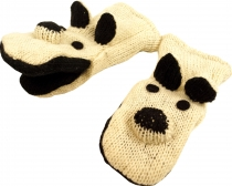 children gloves, animal gloves dog