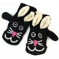children gloves, animal gloves cat