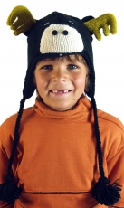 Kids cap moose