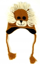 Children`s cap lion