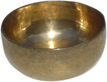 Handmade brass singing bowl from India - 14 cm