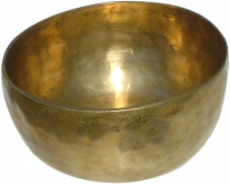 Handmade brass singing bowl from India - 22 cm
