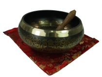 Singing bowl from Nepal 18 cm