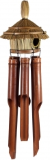 Exotic sound play wind chimes made of bamboo - Bird house 2