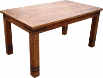 Colonial style dining table R509 light classic - Model 5