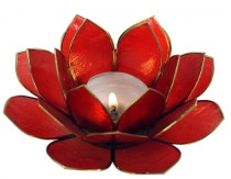Lotus tea light shell 14 cm in 11 colors