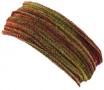 Magic Hairband, Dread Wrap, Scarf, Headband - Hairband red/yellow