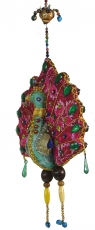 Mobile colourful decorative bird from India - Peacock 1