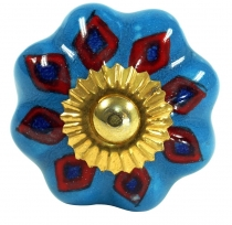 Furniture Knob Rose Ceramic - 14