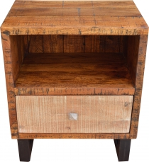 Side cabinet, bedside cabinet, side table with shelf - Model 5