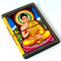 Indian notebook, diary, writing book - Buddha