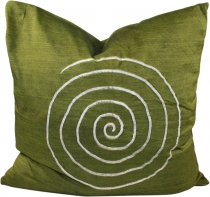 Retro cushion cover, cushion cover, decorative cushion - spiral g..