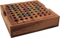 board game, wooden parlour game - snake on the ladder
