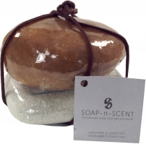 Soap set Soap on the Rock, 90 g soap on pumice stone, Fair Trade ..