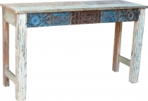 Sideboard, highboard in antique look with many details - model 10