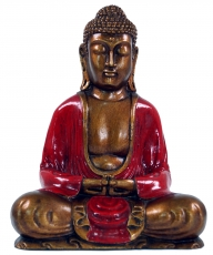 Sitting Buddha in Dhyana Mudra from Recin - red