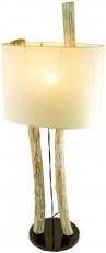 Floor lamp/floor lamp, handmade in Bali from natural material, wo..