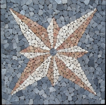 Stern Mosaik Ensemble (90*90 cm) - Design 4